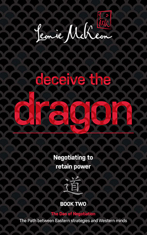 Deceive the Dragon: Negotiating to retain power